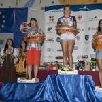 Podio Mountain Race femminile