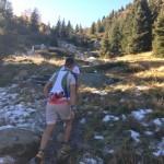 Steil Bergauf zum Laugensee
